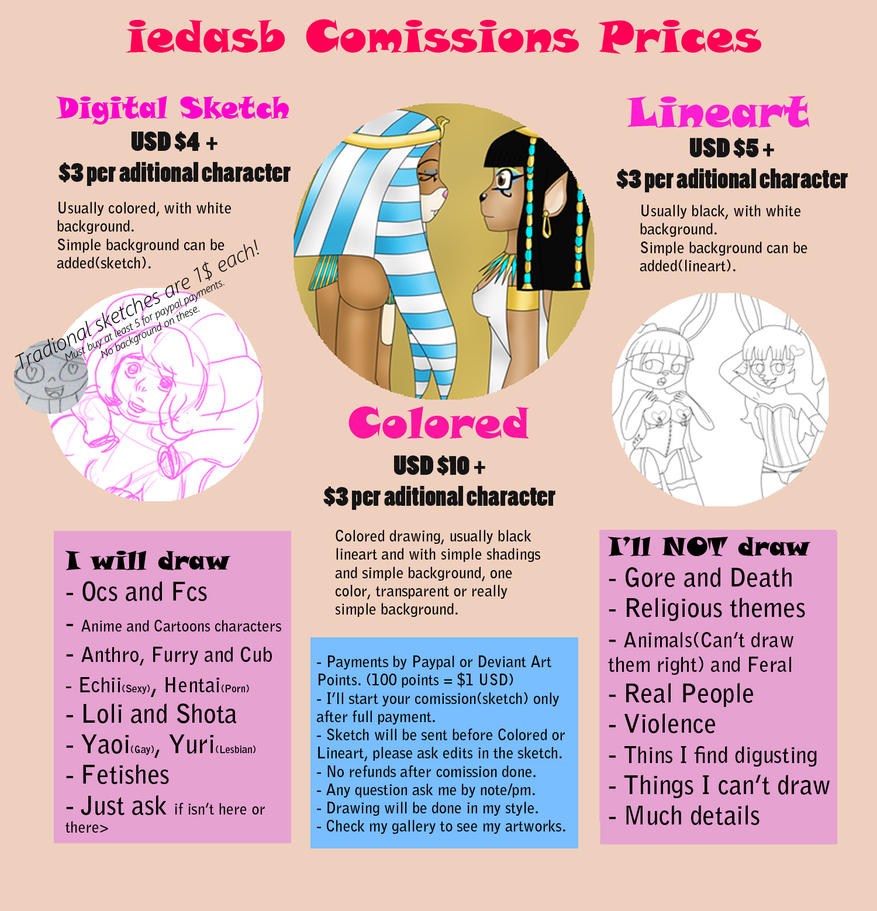 Comissions Info by iedasb