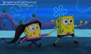 SpongeBob and Meg