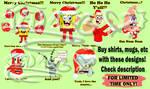 SpongeBob Christmas READ DESCRIPTION LIMITED TIME by iedasb