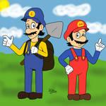 Mario and Luigi anime