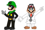 Dr Mario and Cappy and Mr L