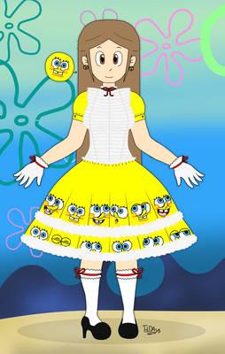 Eda SpongeBob's dress