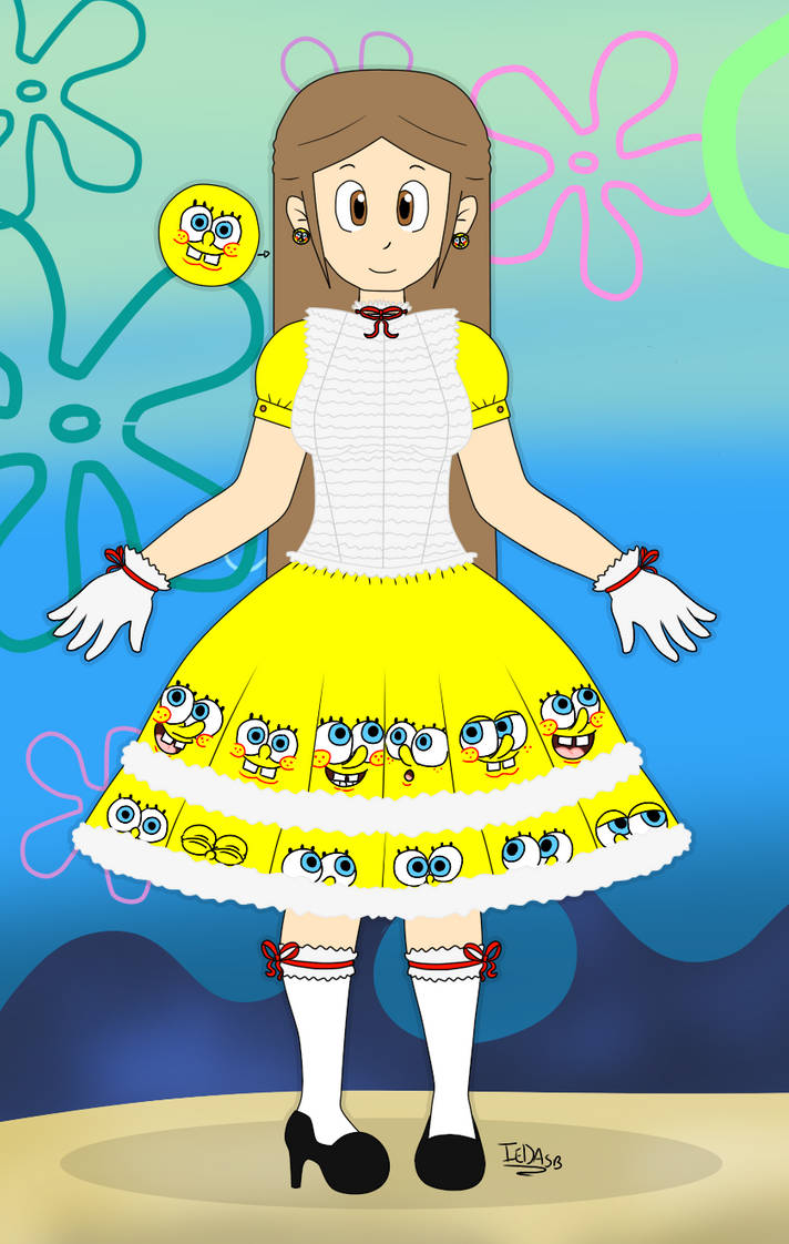 Eda SpongeBob's dress