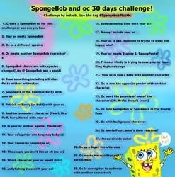 30 days challenge SpongeBob and oc
