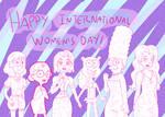 Happy International Women's Day 2021 by iedasb
