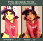 Draw this again! Meme|| C l e m e n t i n e