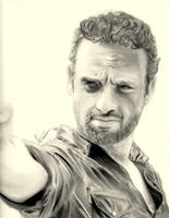 Rick Grimes by waterpolo218