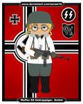 Ww2-german-v4-waffen Ss-winter-soldier-15-frame