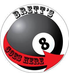 8 Ball Marker