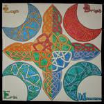 Celtic Tattoo - 4 Color Ways