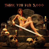 Thank You for 5K by Trish2