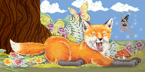 Tiny Fox and Faerie by Trish2