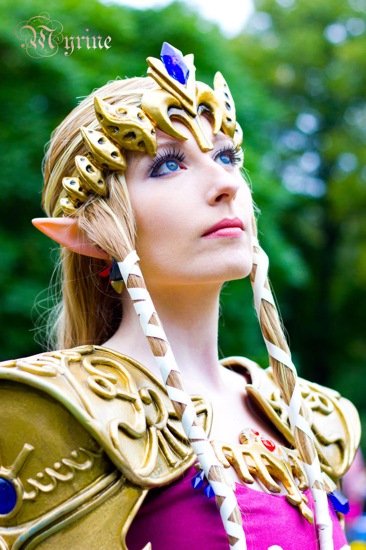 Princess zelda cosplay by myrine86 on deviantart - La princesse zelda ...