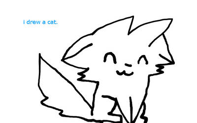 I Drew A Cat