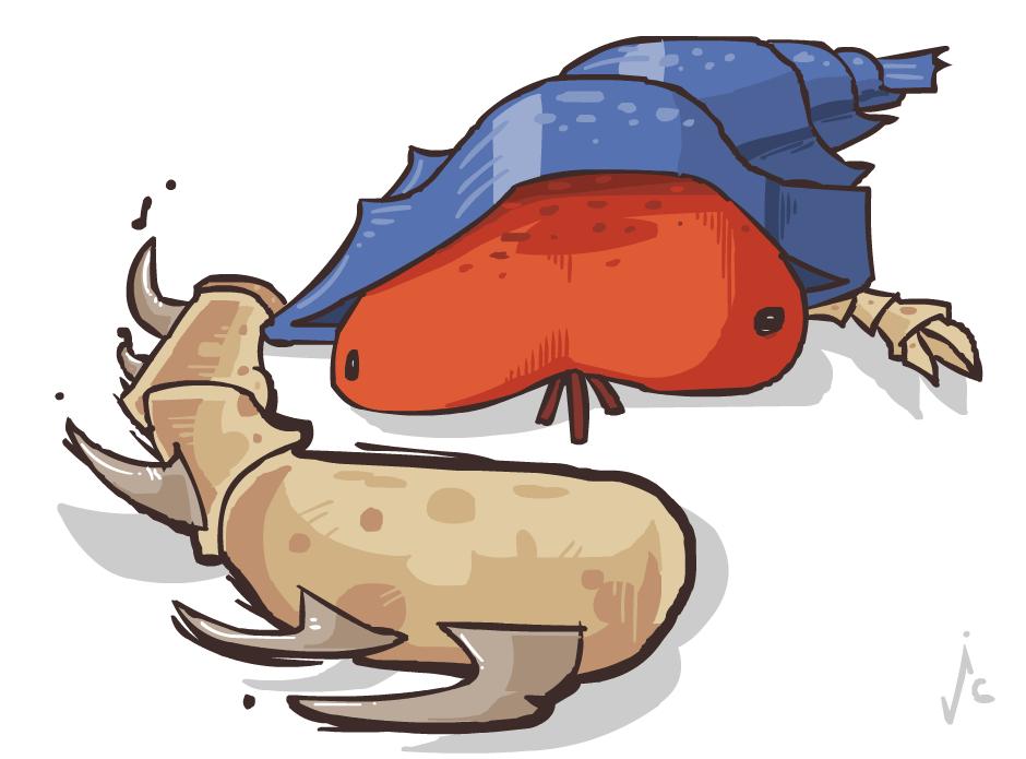 Segmented Crawbster by ItsJustin