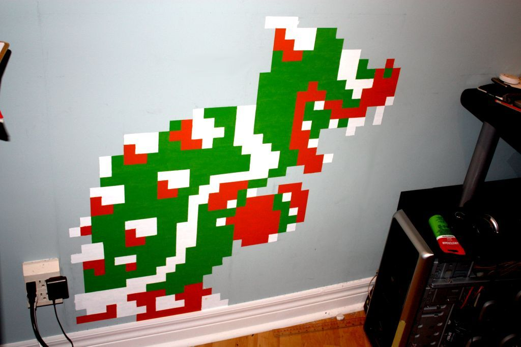 Bowser Wall Art by ItsJustin