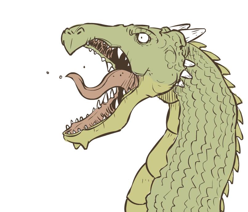 A Dragon by ItsJustin