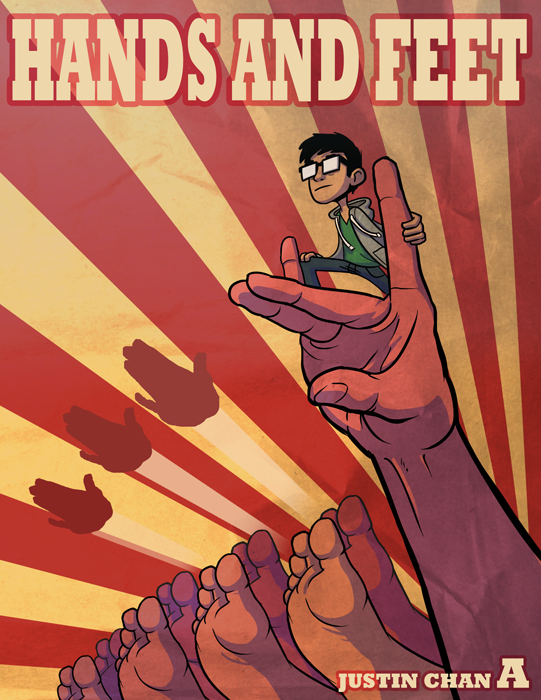 HANDSFEET Cover Page by ItsJustin