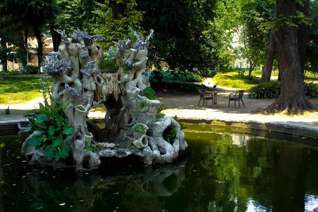 Kusluk Garden in Dolmabahce Palace by waneraixen on DeviantArt