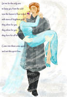 Hans and Elsa, what if the cold does bother her? by lisuli79