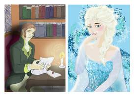 Hans and Elsa - Odi et Amo by lisuli79