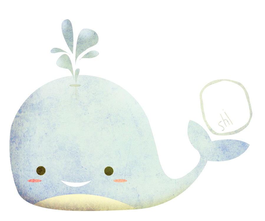 Cute whale by Ochellemae on DeviantArt