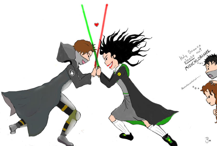 HPatMoR lightsaber duel by MoonrakerJay