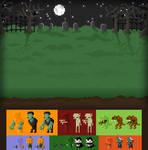 Pixel Halloween Pack Game Concept