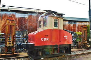 The smallest electric locomotive in Japan by Furuhashi335