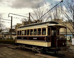 Former Kyoto municipal tram by Furuhashi335