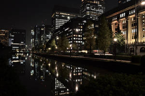 Moat of Imperial palace 1 by Furuhashi335