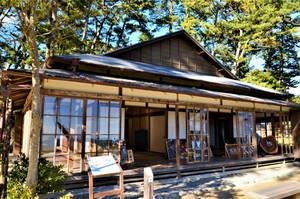 Former residence of Tenshin Okakura by Furuhashi335