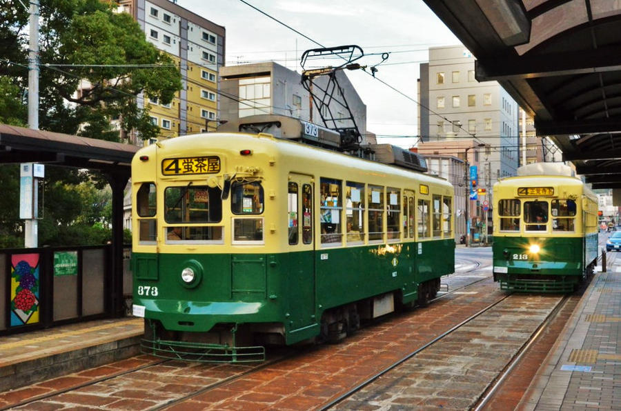 Nagasaki Trams by Furuhashi335