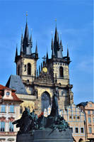 The old city centre in Prague by Furuhashi335