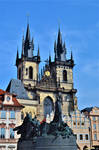 The old city centre in Prague
