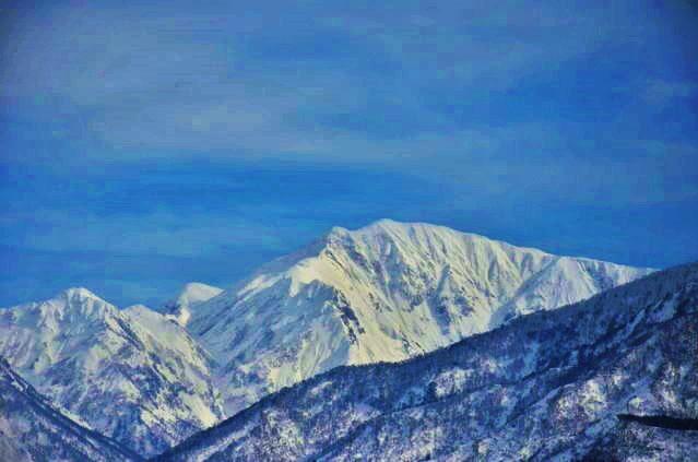 Mikuni Mountainrange by Furuhashi335