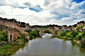 Puente de San Martin in Toledo by Furuhashi335
