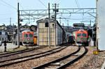 A small terminus in Kanazawa.