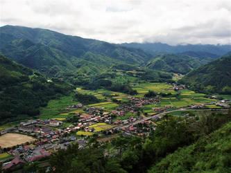 Townview of Tsuwano by Furuhashi335