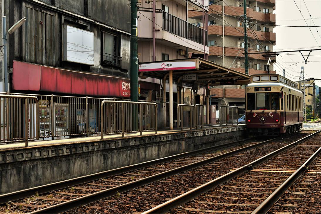 Kajiwara Tramstop by Furuhashi335