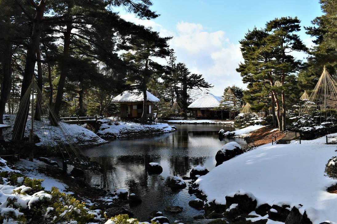 Oyakuen in winter