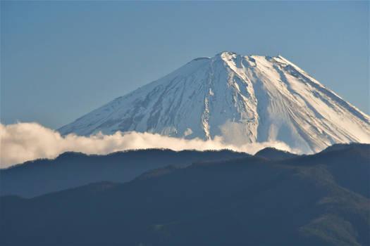 Top of Mount Fuji