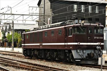 Electric locomotive in Kofu by Furuhashi335