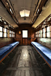 An old railway carriage