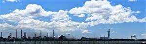 Industrial area in Nagoya