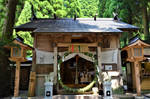 Small shrine in Takachiho