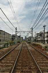 Tracks of Tokyo Metropolitan Tram by Furuhashi335