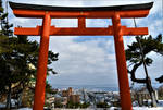 Hakodate city from Torii by Furuhashi335