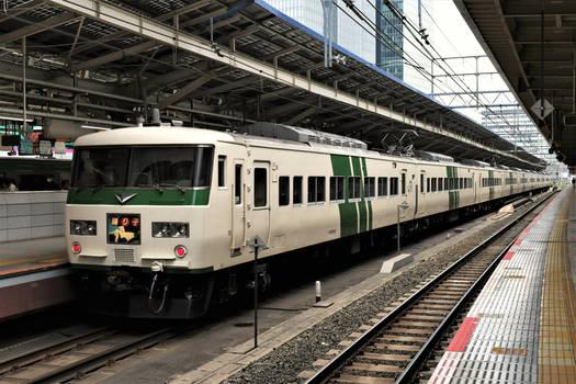 Type 185 EMU at Tokyo Station