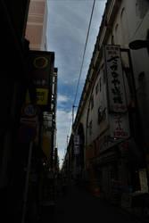 Blue-sky from Narrow Street